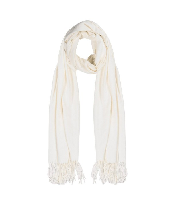 Cashmere Scarf-Winter Solid Color Unisex Women's Scarves-Warm Wraps Shawls - Begie - C11892K806Q