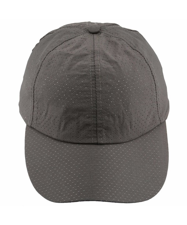 moonsix Unisex Baseball Cap-Lightweight Breathable Running Quick Dry Sport Hat - 4-army Green - CV180389496