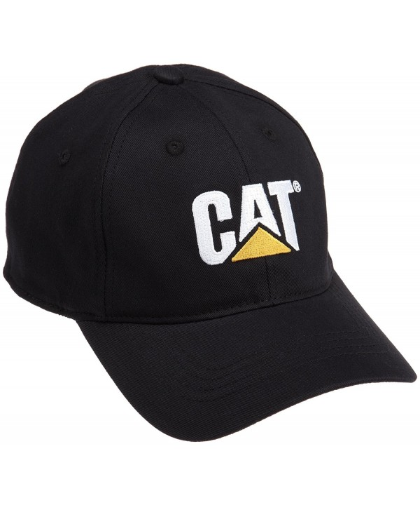 Caterpillar Men's Trademark Stretch-Fit Cap - Black - CS114XPLA53