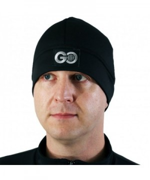 GO Athletic's Cold Weather Gear Beanie Hat - Black - C311QVT2K81