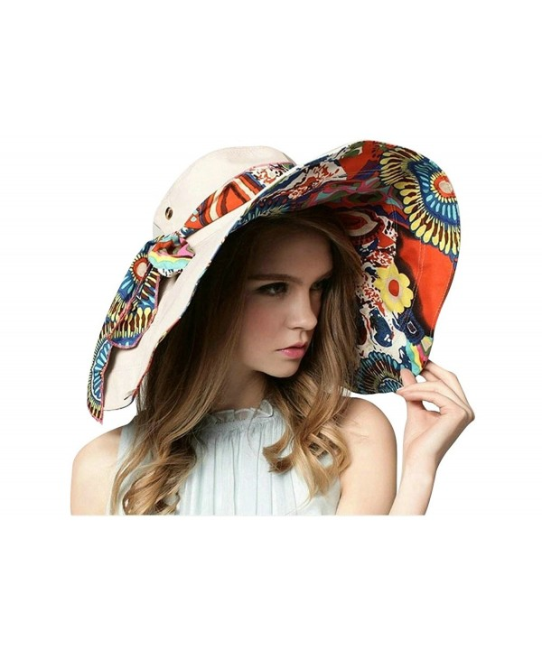OVOV Large Brim Floppy Foldable Sun Hat for Hiking-Climbing-Travelling UPF 50+ - B-light Coffee - CK184A0GG9A