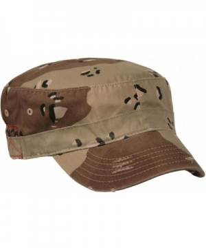 Castro BDU Low Profile Short Bill Military Cadet Cap - Desert Camo - CK11DK41NH9