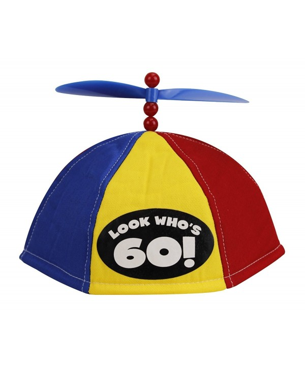 Four Seasons Look Who's 60 - Propeller Beanie (Item 54101) - C812MZ6WPFT