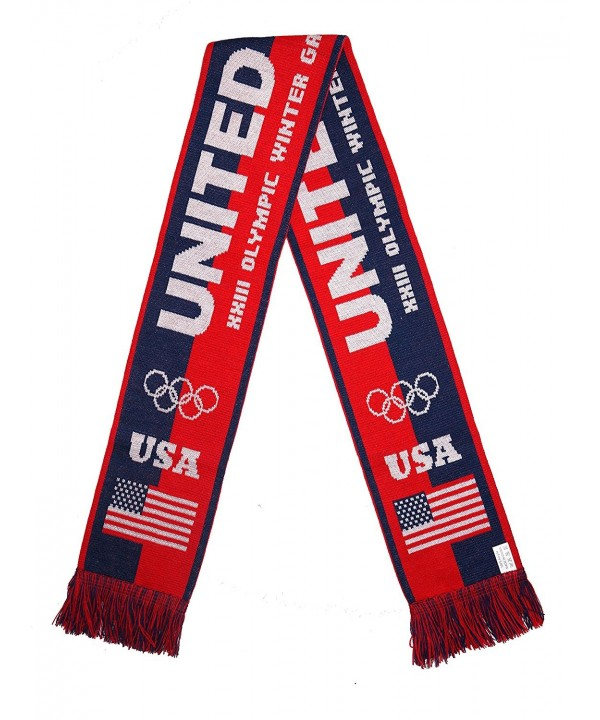 UNITED STATES 2018 Olympic Winter Games Fans Scarf - CI1806G50AI