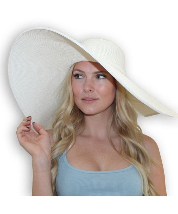 Ladies Scarlet Derby Hat - White - CV115VH4H4T