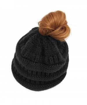 GOLDSTITCH Beanie Stretch Cable Ponytail