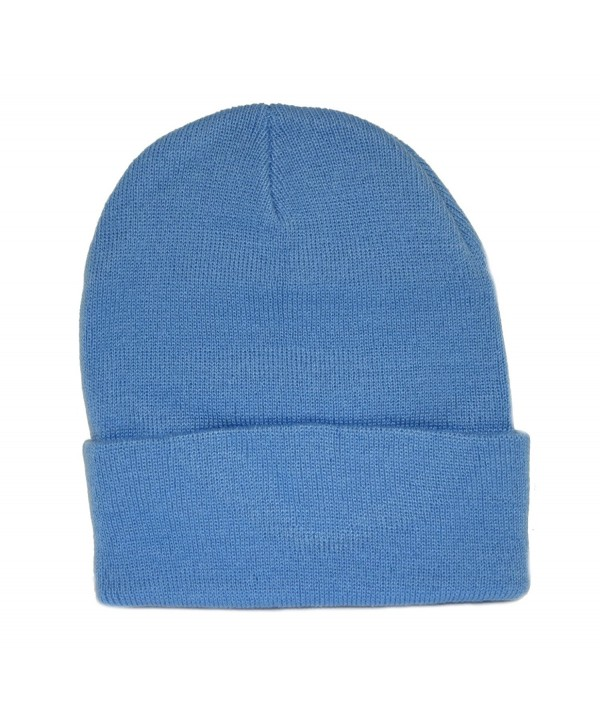 Sky Blue Long Beanie / Knit Ski Hat / Warm In Winter! - CH110A1B6SP