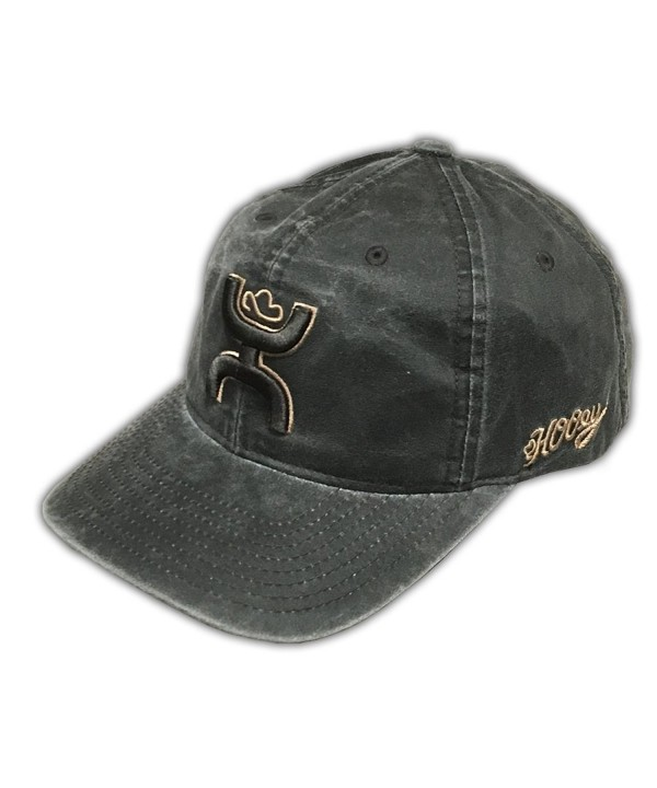 HOOey Men's Slick Wax Trucker Hat - 1580T-Brnw - Brown - CW12ELPPVNR