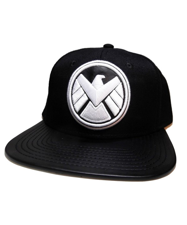 Marvel Comics AGENTS OF SHIELD Logo Snapback Baseball CAP/ HAT - C011XR17S6F