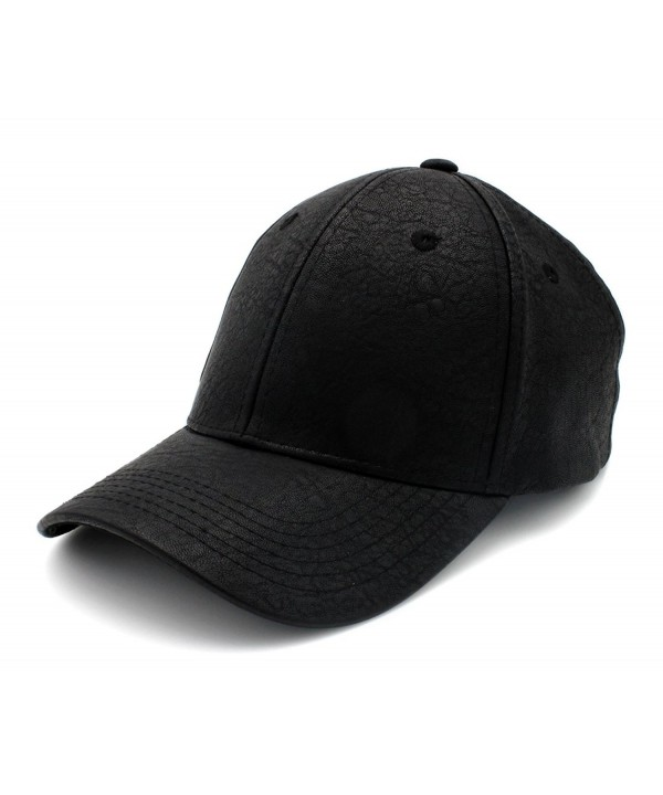 Top Level Adjustable Baseball Snapback - Black - C612GJT4I5P