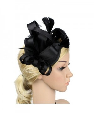 ChezAbbey Feather Pillbox Fascinator Cocktail