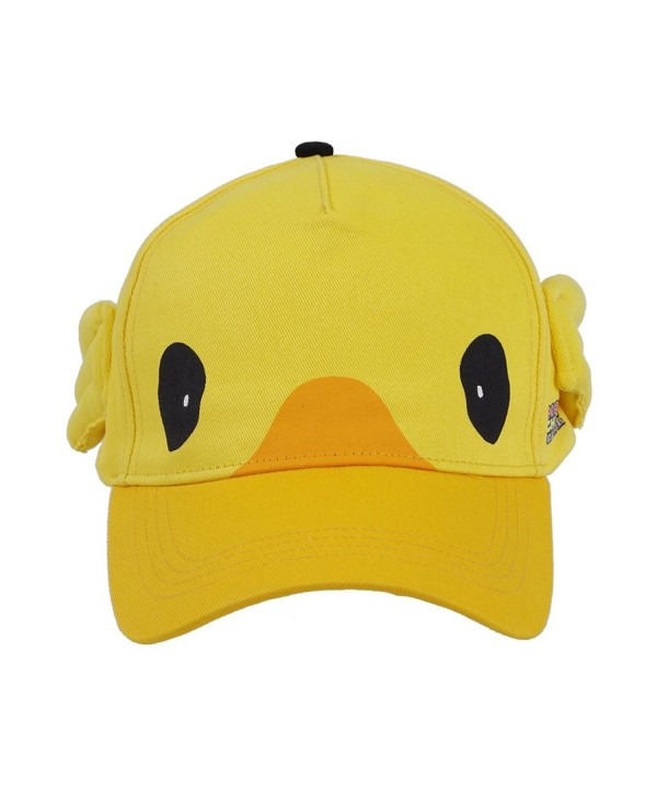 Xiao Maomi Yellow Hat Lovely Halloween Cosplay Cap Costume accessories - Yellow - CJ182ER3MA0
