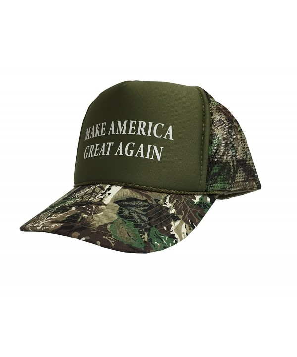 P&B Campaign Adjustable Unisex Hat Cap Make America Great Again! Donald Trump'16 - Camouflage - C512HTDE39B