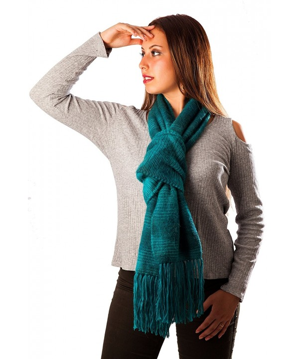 100% Baby Alpaca Scarf Authentic from Peru Stylish- Warm- AZO Free- Non-Toxic - CC1878O292I