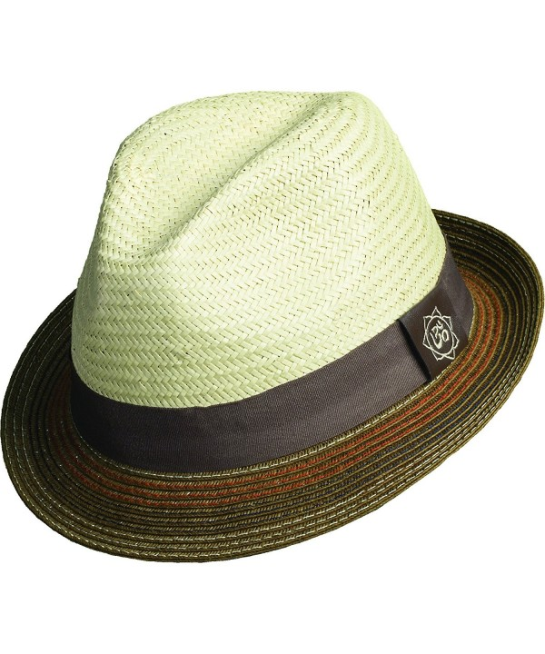 Santana Holistic Toyo Pinch/braid Fedora Hat - Tan - C811JBLV14F