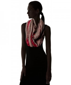 Womens Distressed American Infinity Scarf in Fashion Scarves
