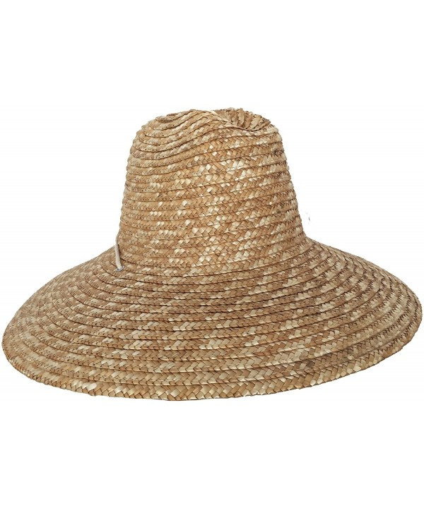 Super Wide Brim Lifeguard Hat Straw Beach Sun Summer Surf Safari Gardening UPF - CL119G17WON