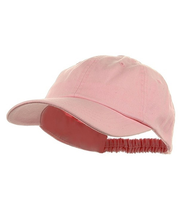 Washed Ladies Polo Caps-Pink - CS11174X72N