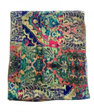 Luxury Satin Beautiful prints heaven in Fashion Scarves