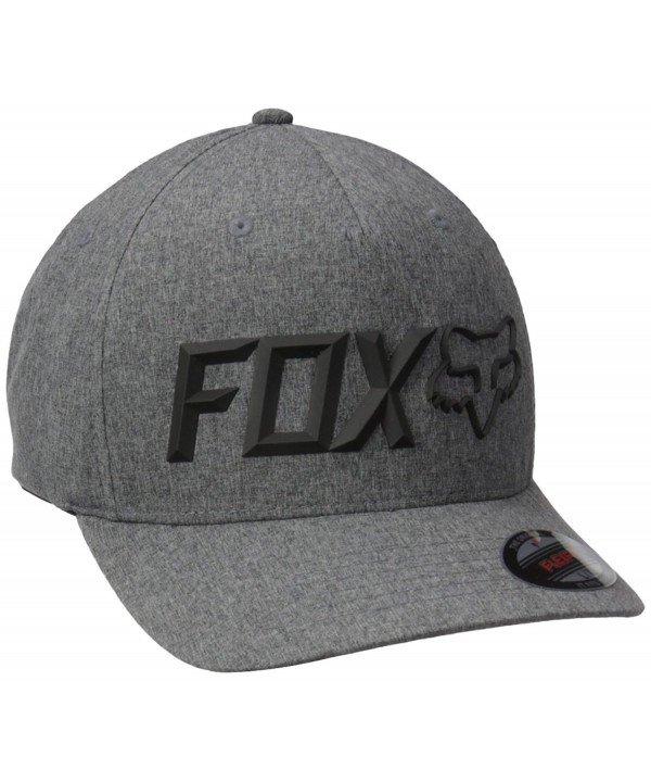 Fox Men's Sonic Corp Flexfit - Heather Graphite - CC12O5IRN26