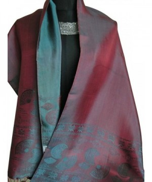 Fandori Scarf Print Contrasting Color in Fashion Scarves