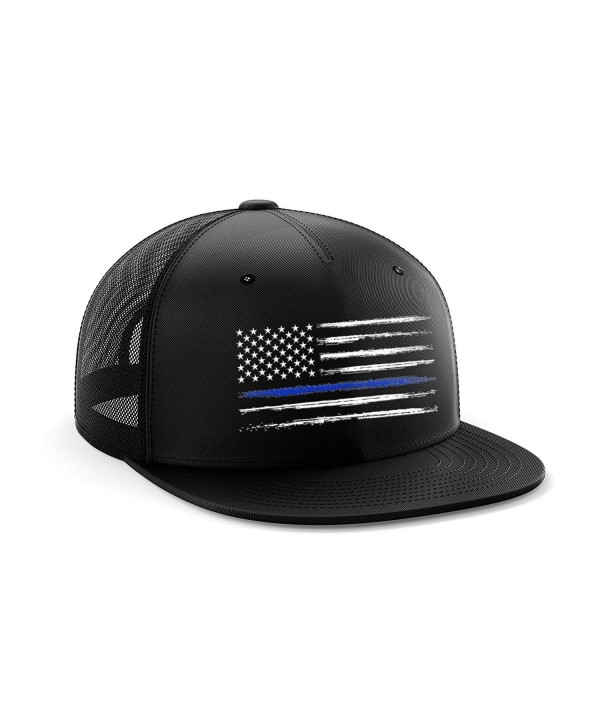 DURO threads Blue Line Snapback Hat - CU188HG5LUL
