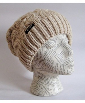 Chunky Slouchy Beanie Frost Hats