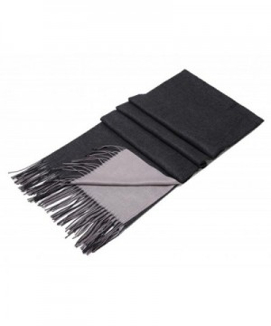 VOCHIC Double Layered Solid Tassel in Fashion Scarves