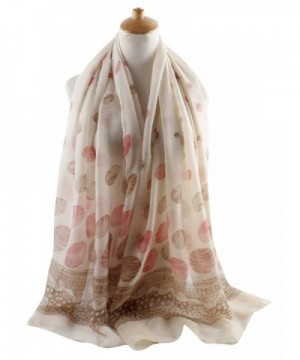GERINLY Spring Scarves Two tone KhakiPink