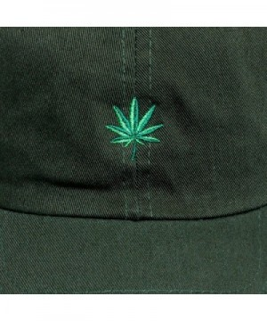 Newhattan Weed Leaf Dad Hat in Women's Baseball Caps