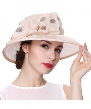 Junes Young Summer Sinamay Elegant in Women's Sun Hats