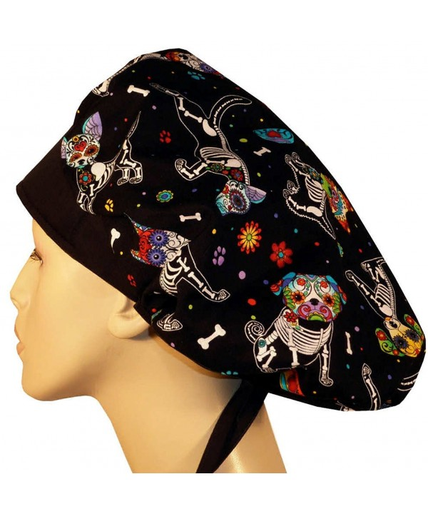 Designer Bouffant Medical Scrub Cap - X-Ray Dogs - CG12ELBZK37