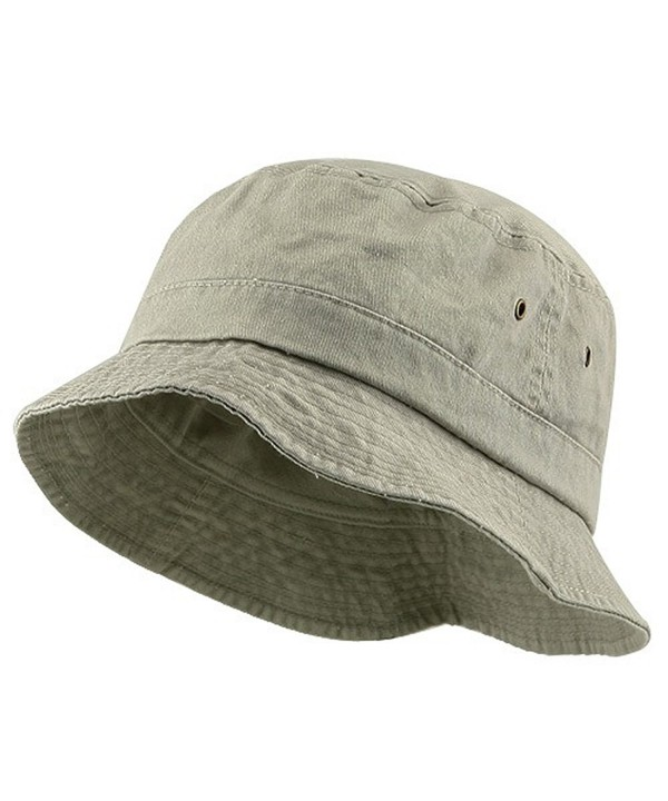 Big Size Washed Hat - Beige (For Big Head) - CB112KULMMZ