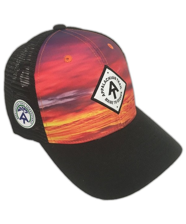 Crown Trail Headwear Appalachian Trail Ranger Adjustable Snapback Hat - Skyline Sunset - CA186LOHCX9