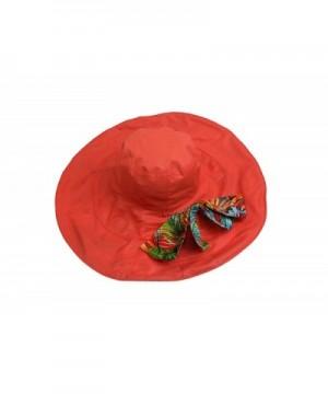 Wicky Womens Foldable Orange Medium in Women's Bucket Hats