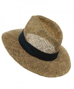 Safari Straw Hat Navy Band