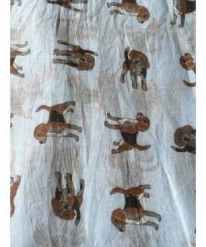 Pamper Yourself Now Womens Beagles in Fashion Scarves