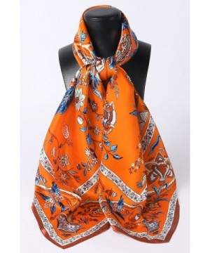 Grace Scarves Extra Large Beanstalk Orange