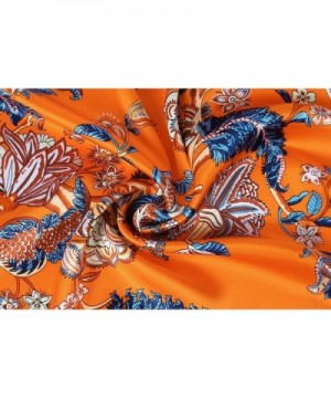 Grace Scarves Extra Large Beanstalk Orange in Fashion Scarves