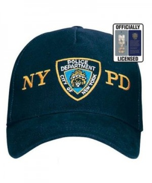 Official NYPD Hat/Baseball Cap- Navy Blue Police Department NYPD Cap - C4121S6OGL5