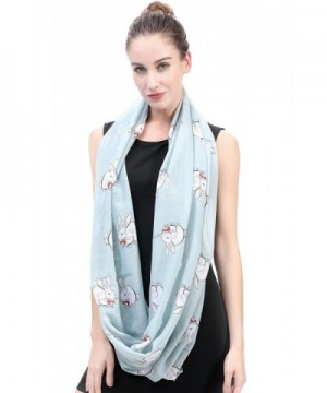 Lina Lily Rabbit Infinity Lightweight in Fashion Scarves