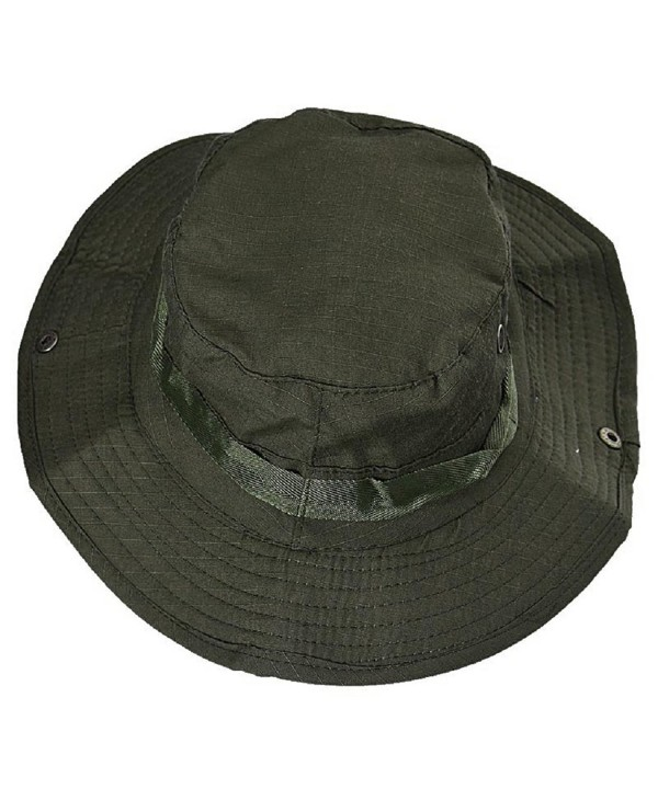 Motop Fashionable Bucket Hat Hunting Fishing Outdoor Wide Hat - A - CM12O0T07Y7