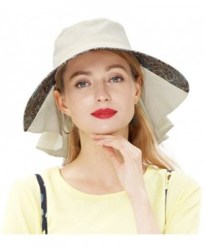 Lovful Womens Summer Protection Cotton in Women's Sun Hats