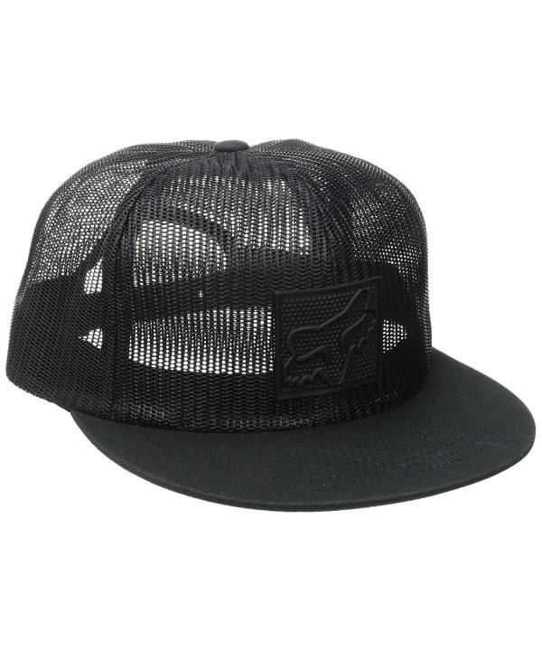 Fox Men's Scaling Snapback Hat - Black17 - C512O3IKROE