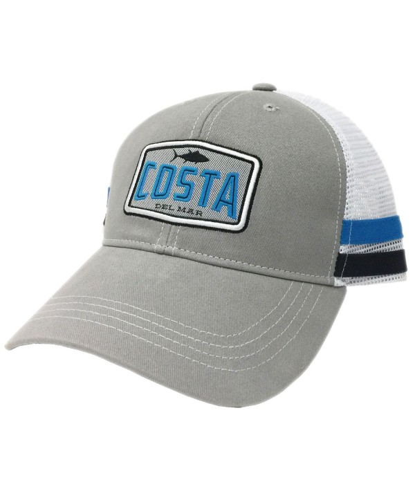 Costa Blue/White-Grey/White Bimini Trucker - Grey/White - CF17YDSSS0U