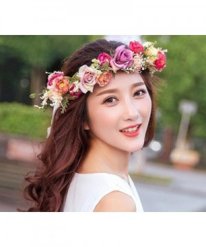 Vivivalue Headband Garland Headpiece Festival in Women's Cold Weather Headbands