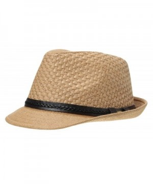 Jimall Women Short Straw Protection in Men's Sun Hats
