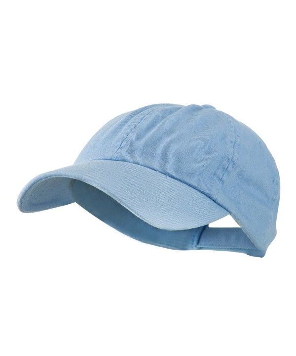 MG Low Profile Dyed Cotton Twill Cap - Sky Blue - CW11GZA9IAH