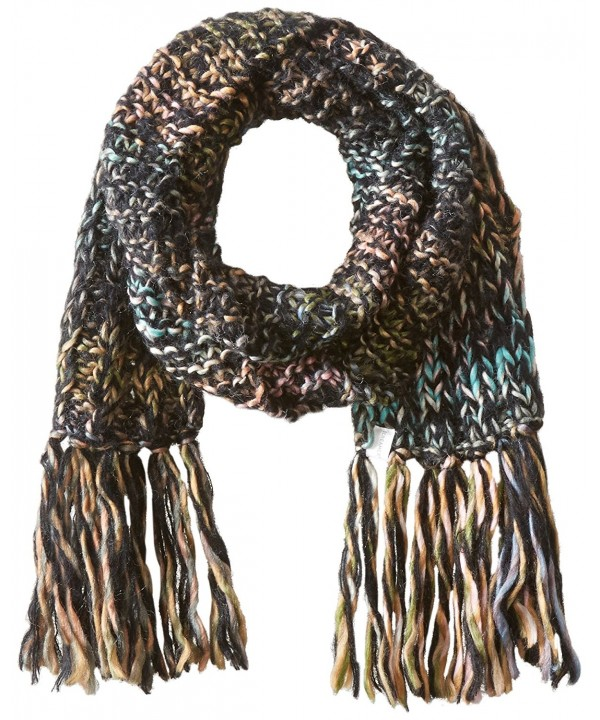 Screamer Women's Katy Scarf - Black/Charcoal/Melon - C111YKL2YP1
