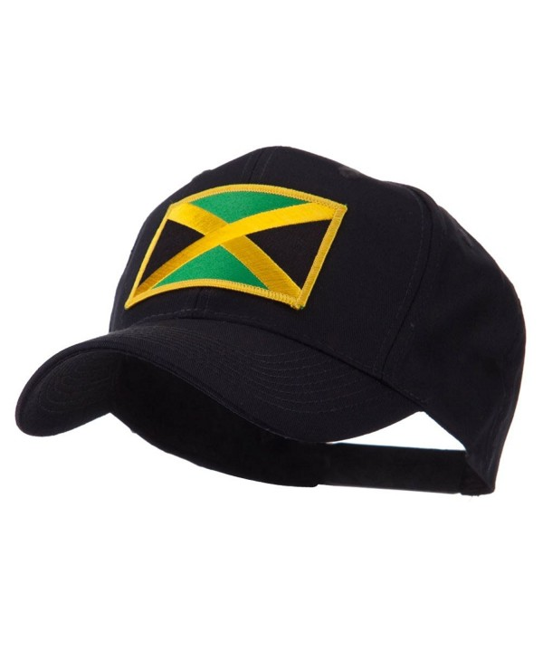 North and South America Flag Embroidered Patch Cap - Jamaica W43S64F - C311E8TV9JH